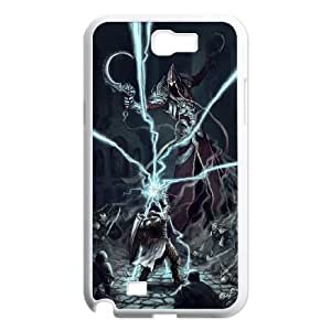 Diablo Samsung Galaxy N2 7100 Cell Phone Case White Gift pjz003_3230125