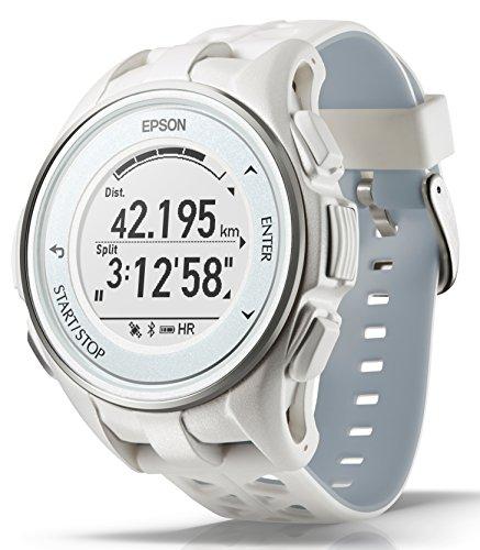 205784e29c [エプソン リスタブルジーピーエス]EPSON WristableGPS GPSランニングウォッチ 脈拍計測 J-300W