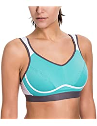Women's High Impact Support Bounce Control Plus Size Workout Sports Bra