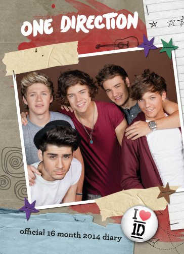 Official One Direction 2014 A6 Diary (One Direction Official Diary)