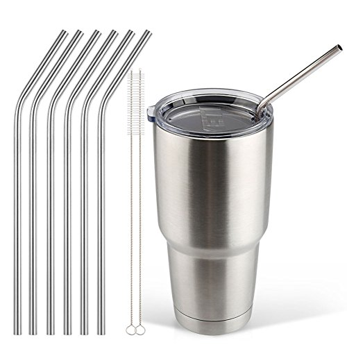 Stainless FDA approved Reusable 10 5inch Drinking product image