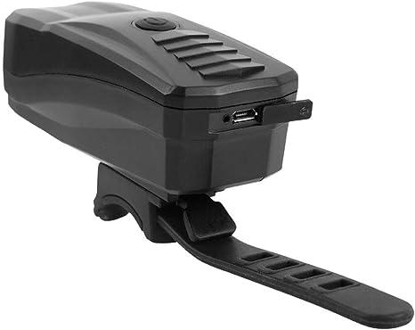 CHUSHENG Luz De Bicicleta USB Recargable con Función De Alarma ...