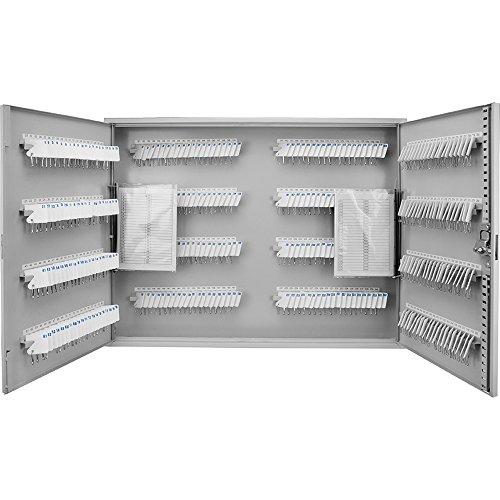 MMF Barska 320 Position Key Cabinet with Key Lock, Grey
