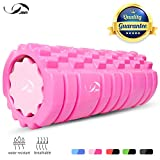 JBM 2-in-1 Foam Roller (3 Colors)Deep Tissue Massage for Tight Muscle Exercises Roller Massage Back IT Bands Leg Arms Body Roller Help Muscle Stretch...