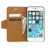 iPhone 6S Plus Case, aLLreLi [Kickstand] iPhone 6 Plus Wallet Case [Ultra Slim] [Lifetime Warranty] [Black] Premium PU Leather Flip Cover for Apple iPhone 6 / 6S Plus 5.5