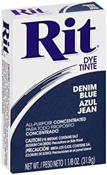 Rit All-Purpose Powder Dye, Denim Blue