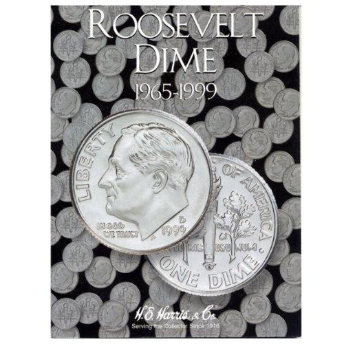 Roosevelt Dime Folder 1965-1999