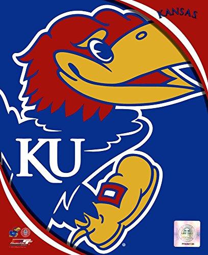(University of Kansas Jayhawks Team Logo Art Print, 8 x 10)