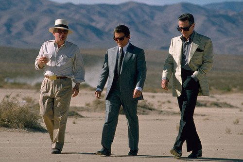 Robert De Niro and Joe Pesci in Casino 24x36 Poster desert scene from Silverscreen