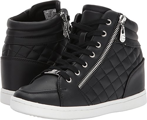 G by GUESS Daryl High-Top Sneakers, Black, 8 US