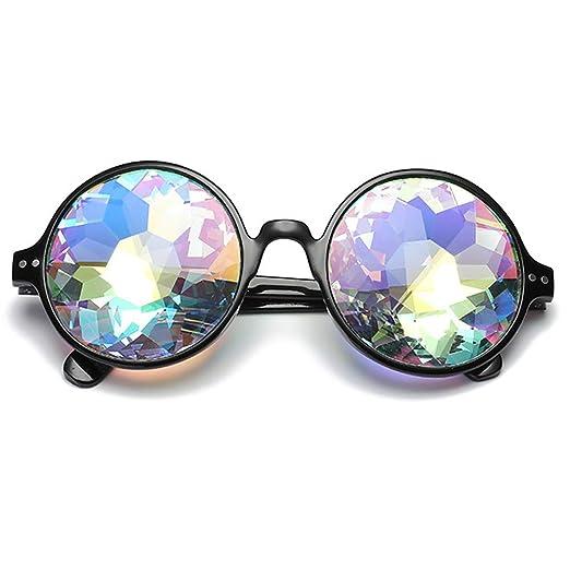 965fa1dc376a8 Amazon.com  OMG Shop Kaleidoscope Glasses