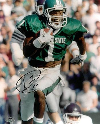 (Signed Andre Rison Photo - Michigan State Spartans 8X10#1 - Autographed College)