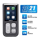 AMTIFO V316 OBD2 Scanner Car Code Reader With Bluetooth, Engine Fault Code Reader, Read Codes Clear Codes, View Freeze Frame Data, I/M Readiness Check CAN Diagnostic Scan Tool,Test Vehicle performance