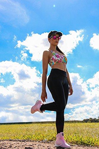 Uzafit Victoria Bodybuilding Weightlifting CrossFit Boxing Shoe Sneaker Light Pink Women's 7 by Uzafit (Image #4)