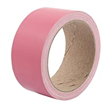 uxcell® 45mm Width Pink Strong Single-sided Duct Tape Waterproof Wear-resisting No Trace 10M Length