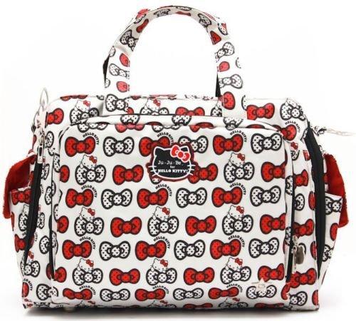 ju-ju-be-be-prepared-hello-kitty-peek-a-bow-baby-diaper-bag-w-changing-pad