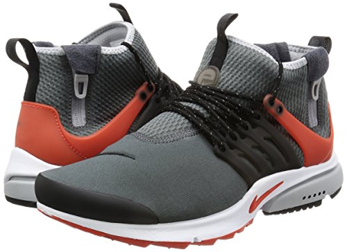 NIKE 859524 006 Hombres Grey/Orange-black