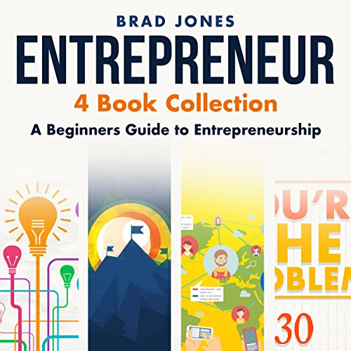 Entrepreneur: 4 Book Collection: A Beginners Guide to Entrepreneurship by HRD Publishing