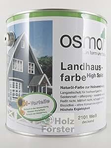 OSMO Pintura Color Casa de Campo High Solid 2.5 L - Gris piedra