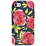 OtterBox SYMMETRY SERIES Case for iPhone 7 (ONLY) - Frustration Free Packaging - BOUQUET (BLAZER BLUE/BLAZER BLUE/BOUQUET GRAPHIC)