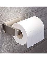 Ruicer toiletrolhouder zonder boren wc-rolhouder zelfklevende papieren houder roestvrij staal voor badkamer