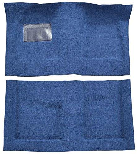 1967 to 1973 Dodge Dart Carpet Custom Molded Replacement Kit, 2 Door Automatic (512-Blue 80/20 Loop) -