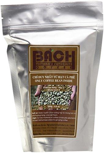 Bach Vietnamese Coffee, Whole Bean (Robusta 2-pack)