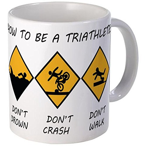 CafePress - How To Be A Triathlete Mug - Unique Coffee Mug,...