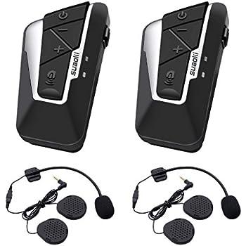 Amazon.com: Bluetooth Motorcycle Headset Helmet Intercom