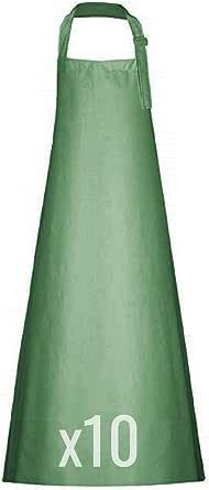 Professionele rubberen schort, van PVC Plavitex 120 x 120 cm, slagersschort, werkschort voor de slager