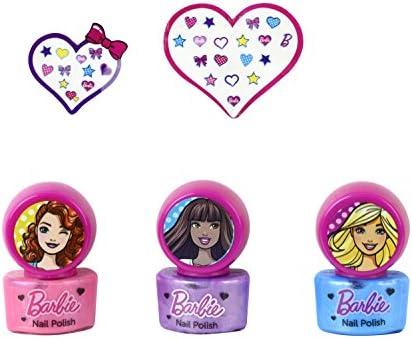 Barbie - DollD Up Nails, estuche de maquillaje infantil (Markwins Beauty Brands 9708310): Amazon.es: Belleza