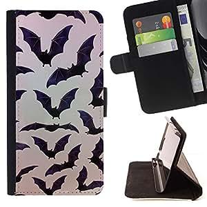 Momo Phone Case / Flip Funda de Cuero Case Cover - Halloween - LG Nexus 5 D820 D821