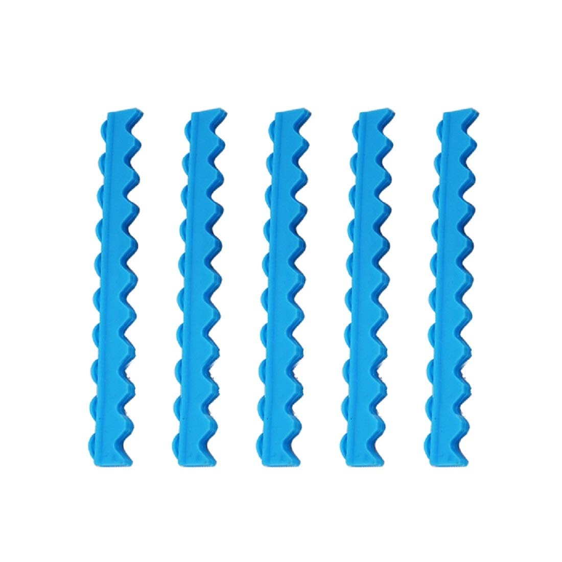 Tinsay Replacement Silicone Rubber Insert Holder for Dental 10 Instruments Cassette Blue 3pc/1set
