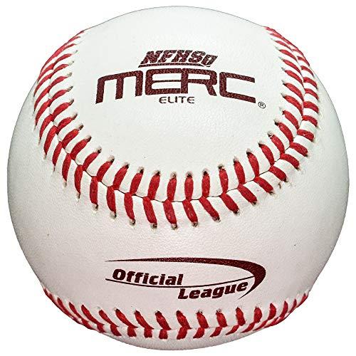 - Merc Elite NFHS Certified Low Seam Baseball - Dozen