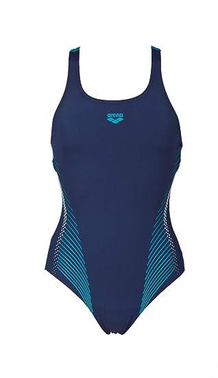 arena Fluids One Piece Swimsuit Women navy-persian green 2018 Schwimmanzug blau Schwimmen Weitere Wassersportarten