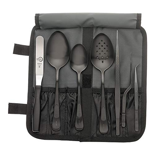 - Mercer Culinary M35156BK Plating Set One Size Black