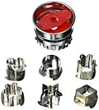 Fox Run 3605 Linzer Cookie Cutter Set, Stainless Steel, 6-Piece