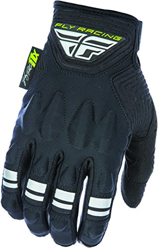 Fly Racing Unisex-Adult Johnny Campbell Sig Patrol XC Lite Gloves (Black/Grey, Size 10)