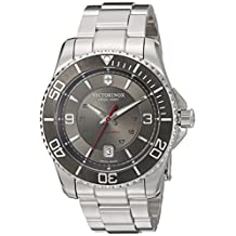 Victorinox Men's 241705 Maverick Analog Display Swiss Automatic Silver Watch