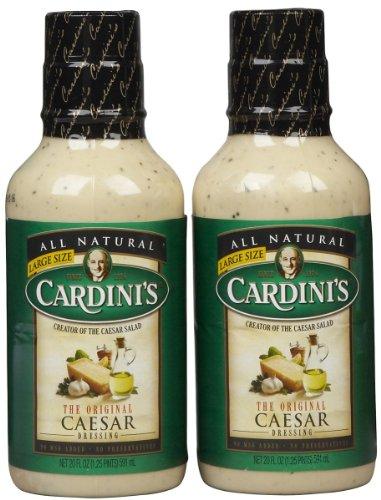 (Cardini Original Caesar Dressing, Bottles, 20 oz, 2 pk)