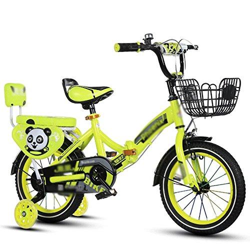 自転車 折りたたみ子供用自転車2-4-6-7-8-9-10年老いたベビーボーイ (サイズ さいず : 14 inch) B07DZVX2KL14 inch