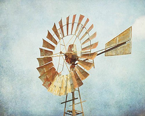Windmill picture Aermoter photo Country Decor 8x10 inch print