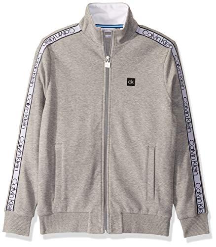 Calvin Klein Men's Athleisure Logo Full Zip Sweatshirt