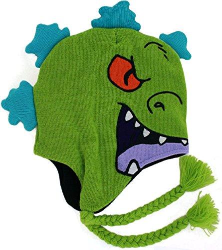 CONCEPT ONE Rugrats Reptar Knit Peruvian Hat Green