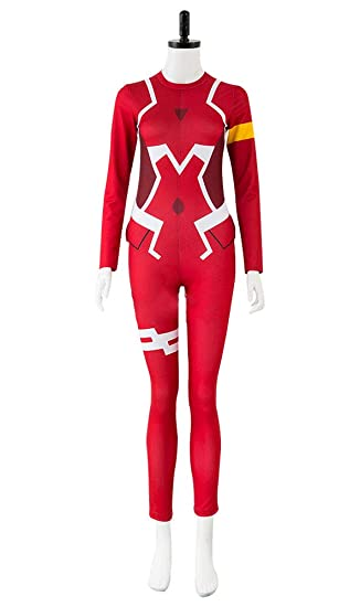 Amazon Com Darling In The Franxx Ichigo Zero Two 02 Zentai Bodysuit