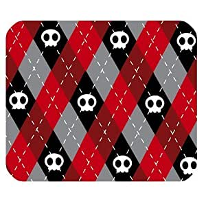 Charming cute skull Rectangle Mousepad Non-Slip Rubber Gaming Mouse Pad 25cmx30cm Pad681