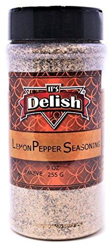 Lemon Pepper Steak (Lemon Pepper Seasoning by Its Delish, Medium Jar, 9 oz)