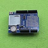 Quickbuying Data Logger Module Logging Shield Data Recorder Shield for Arduino UNO SD Card