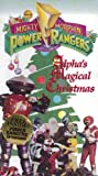 Mighty Morphin Power Rangers- Alpha's Magical Christmas [VHS]