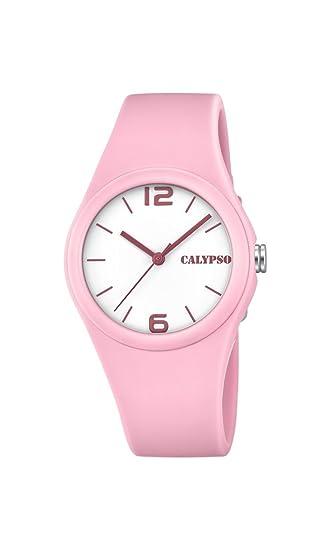 Calypso Reloj Análogo clásico para niñas de Cuarzo con Correa en Plástico K5742/3: Calypso: Amazon.es: Relojes